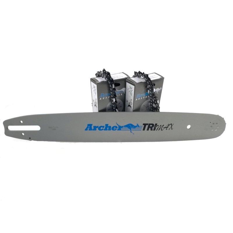 """Schwert 4 Ketten passend für Stihl MS 310 37cm 3//8/"""" 56TG 1,6mm Sägekette chain"""